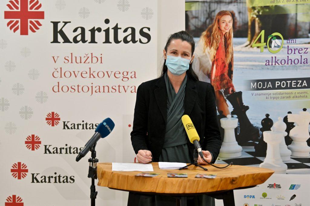 Andreja Verovšek, univ. dipl. soc. del., koordinatorka akcije