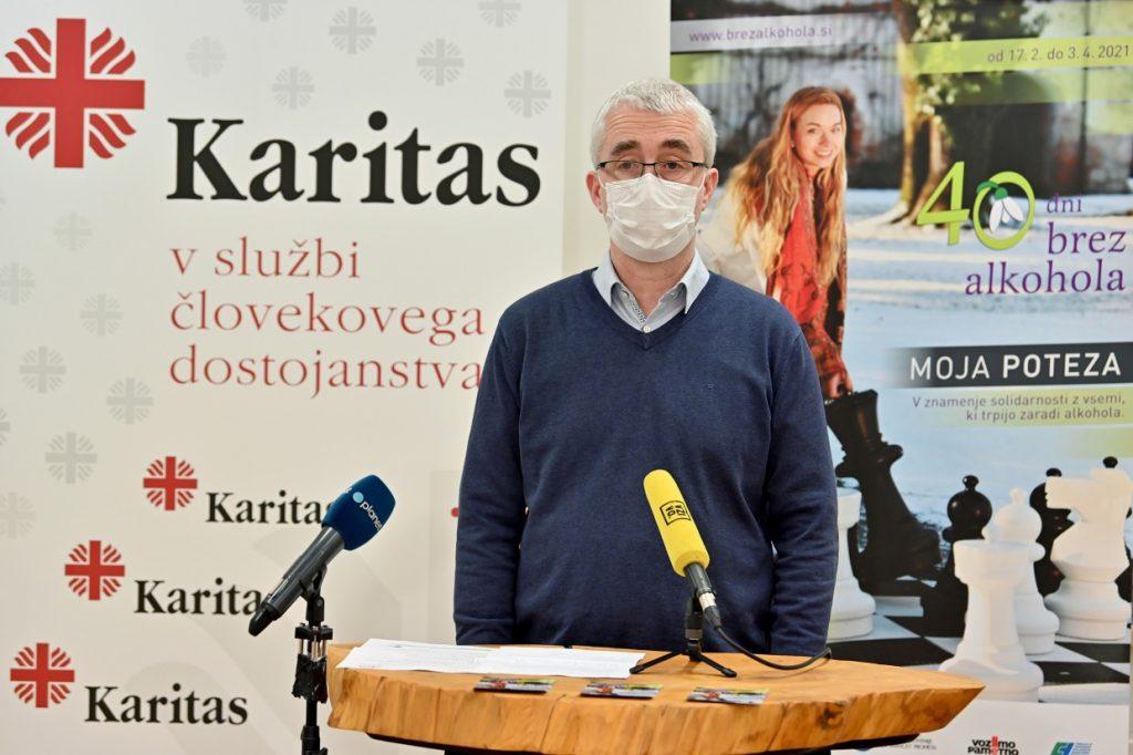 Peter Tomažič, generalni tajnik, Slovenska karitas