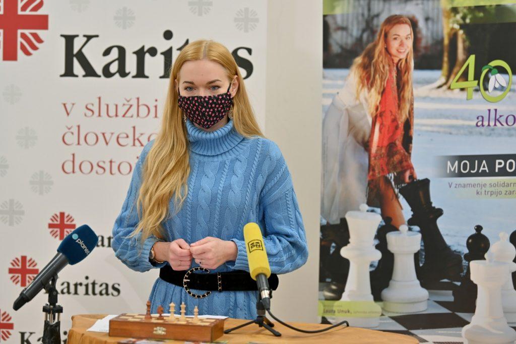 Laura Unuk, šahovska velemojstrica, ambasadorka
